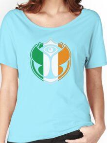 Tomorrowland Ireland logo - Irish - Éire - Irlande Women's Relaxed Fit T-Shirt