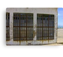 Net Depot WWII Building Canvas Print