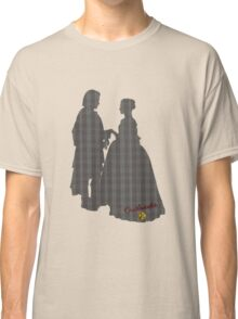 Outlander Wedding Silhouettes Classic T-Shirt