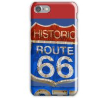 Route 66 motel iPhone Case/Skin