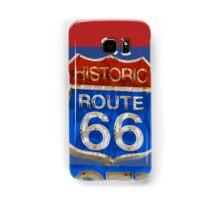 Route 66 motel Samsung Galaxy Case/Skin
