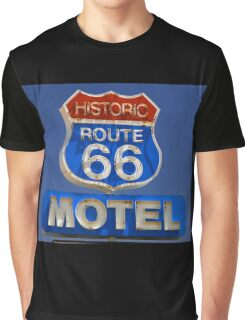 Route 66 motel Graphic T-Shirt
