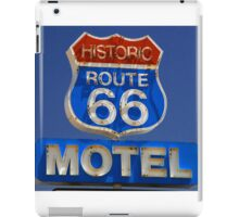 Route 66 motel iPad Case/Skin