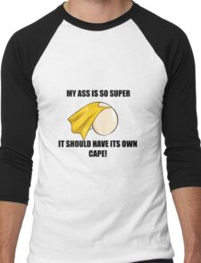 Super Ass Men's Baseball ¾ T-Shirt