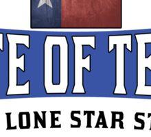 TEXAS LONE STAR STATE DALLAS HOUSTON AUSTIN Sticker