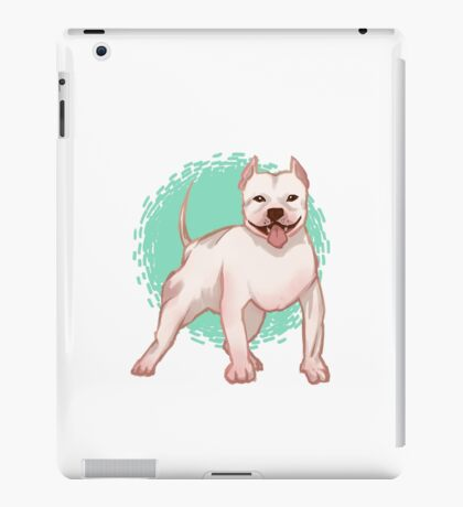 Harker the Pit Bull iPad Case/Skin