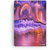 WAVES OF GOODNESS COVERS YOU Canvas Print