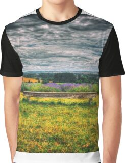 Lavender Seat Graphic T-Shirt