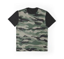 Camouflage pattern Graphic T-Shirt