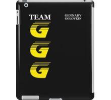 Team GGG iPad Case/Skin