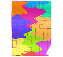 Puzzle Splatters Poster