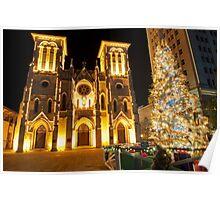 Christmas in San Antonio, TX  Poster