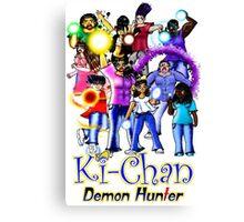 Ki-Chan: Full Cast Canvas Print