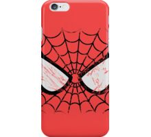 Spider-Man face iPhone Case/Skin