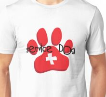 Service Dog Unisex T-Shirt