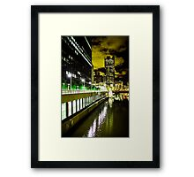 Chicago, Batman City (Gotham) Framed Print