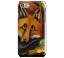Whimsical~FOX~Dont Worry~Love Note iPhone Case/Skin