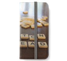 Hilton Head Scrabble tiles iPhone Wallet/Case/Skin