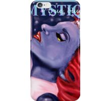 Mystique / True Blue iPhone Case/Skin