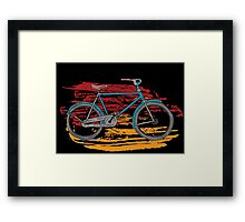 Bicycles - Rideable Art Framed Print