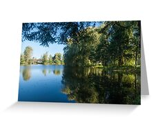 Blue Serenity Greeting Card