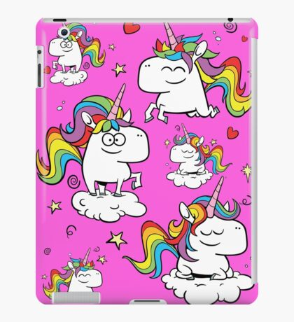 Rainbow Unicorns iPad Case/Skin