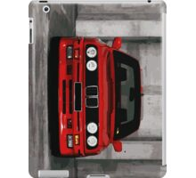 Red Sports Car - Front iPad Case/Skin