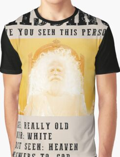 MISSING GOD- PREACHER  Graphic T-Shirt