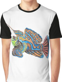 Mandarin Fish Graphic T-Shirt