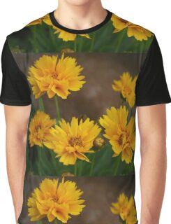 Yellow Daisies Graphic T-Shirt