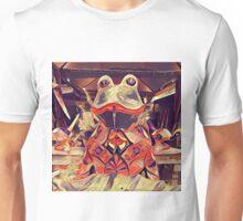 Frog Fountain  Unisex T-Shirt