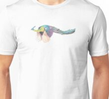 Flying Peacock Unisex T-Shirt
