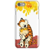 Calvin and Hobbes Hugs iPhone Case/Skin