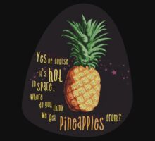 Pinapples from space!  by Bron W