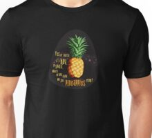 Pinapples from space!  Unisex T-Shirt