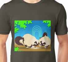 Crunch and Crumble Cats Find A Bug Unisex T-Shirt