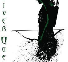 Ollie Queen - Arrow by Ninjaza