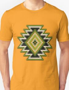 Native American-Style Green Sunburst Unisex T-Shirt
