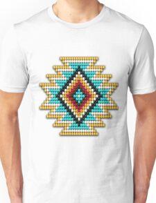 Native American-Style Rainbow Sunburst Unisex T-Shirt