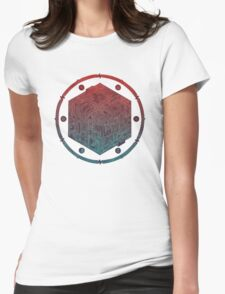 The Folly of Time and Space, Explained Womens Fitted T-Shirt