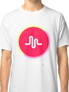 New Retro Musical.ly Logo Classic T-Shirt
