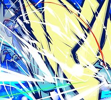 Mega Manectric   Thunder Fang by ishmam