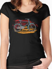 Bicycles - Rideable Art Women's Fitted Scoop T-Shirt