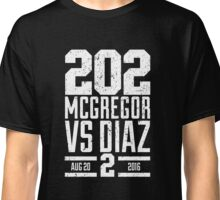 UFC202 McGregor V Diaz 2 Classic T-Shirt