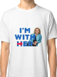 I'm With Her (Kate McKinnon)  Classic T-Shirt