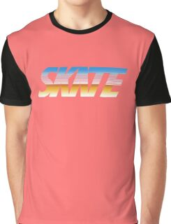 Skate Retro Light Graphic T-Shirt