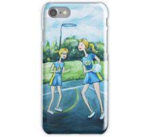 Saturday Netball iPhone Case/Skin