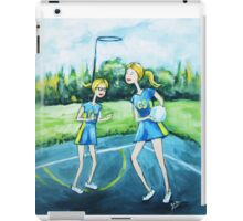 Saturday Netball iPad Case/Skin