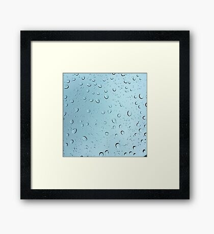 Rain Again Framed Print
