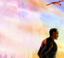 Guardian Angel Sam Wilson by krusca